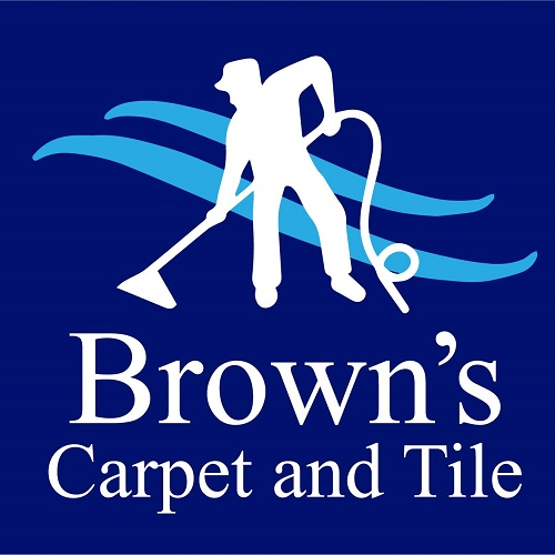 Brown' Carpet & Tile